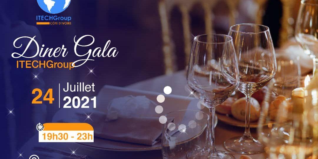 Vers le Diner Gala 2021 d'ITECHGroup Côte d'Ivoire